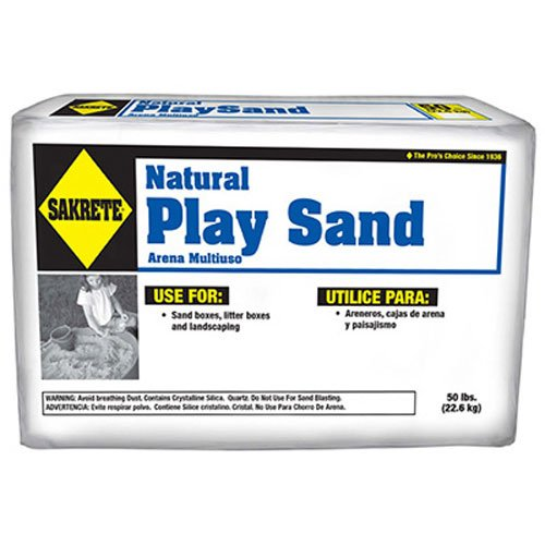 Price comparison product image SAKRETE OF NORTH AMERICA 40100301 50 lb Natural Play Sand