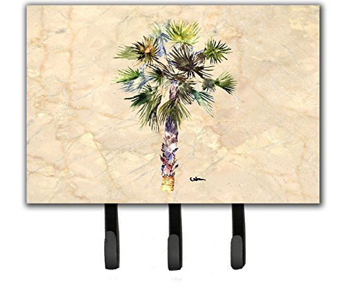Caroline's Treasures 8481TH68 Palm Tree Leash or Key Holder, Large, Multicolor