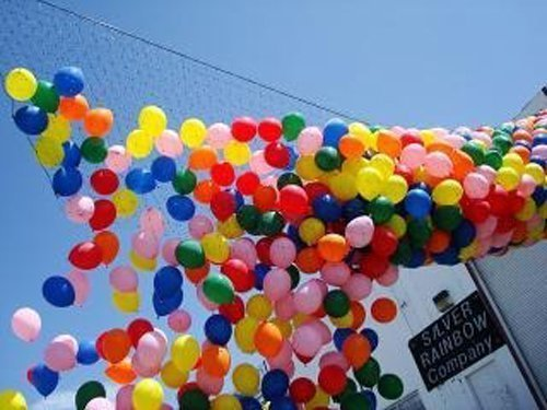 Balloon Release or Drop Net, Holds 1000 9
