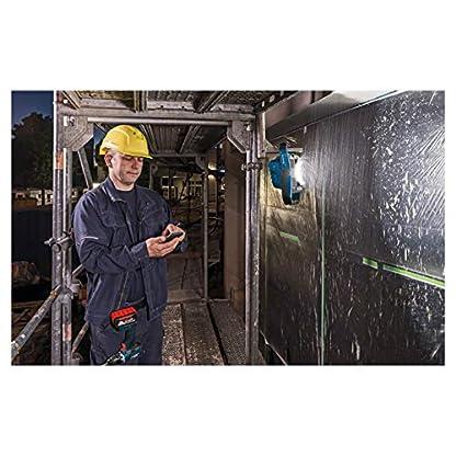 Bosch Professional 18V System Akku LED-Baustellenlampe GLI 18V-2200 C (max. Helligkeit 2.200 Lumen, Connect Ready, ohne Akkus und Ladegerät, im Karton) 4