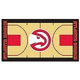 Fanmats NBA Atlanta Hawks Nylon Face NBA Court Runner-Large
