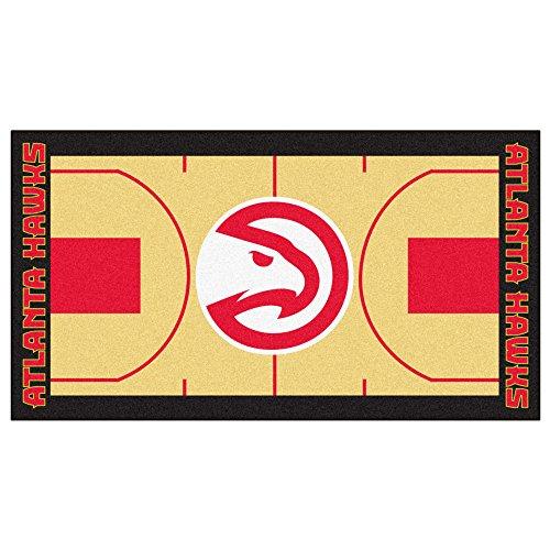 Fanmats NBA Atlanta Hawks Nylon Face NBA Court Runner-Large by Fanmats