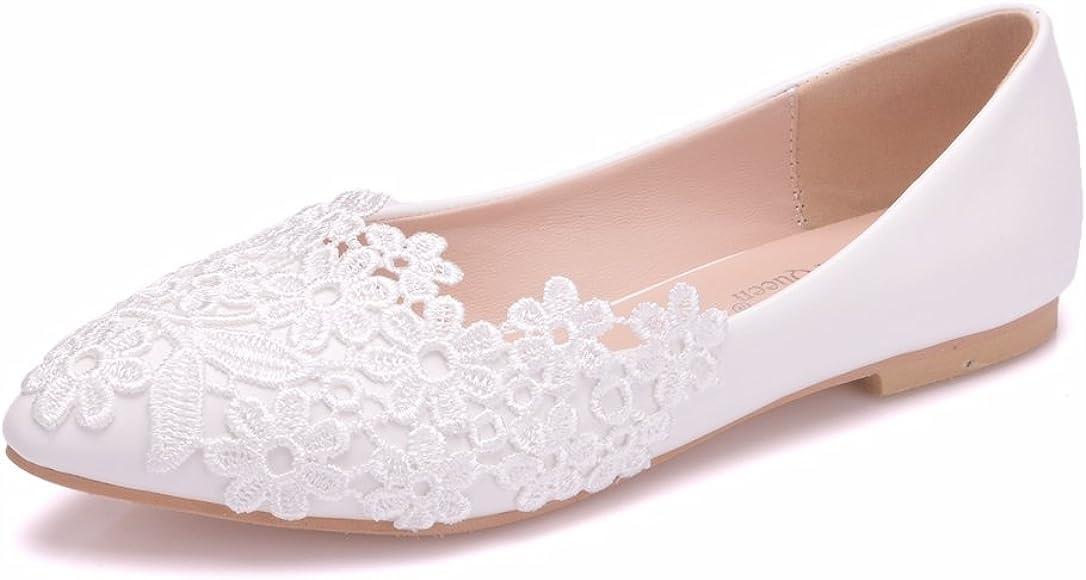 Crystal Queen Women Flats Ballets Shoes