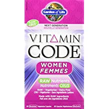 Garden of Life Vitamin Code Raw Women - Next Generation UltraZorbe Vcaps, 60 Count