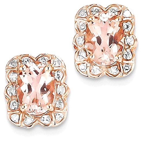 IceCarats 14k Rose Gold Diamon