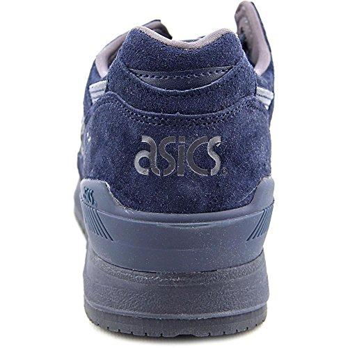 Asics Heren Gel-respector Enkelhoge Suède Mode Sneaker Marine