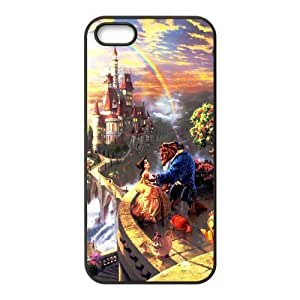 DIY Beauty and the Beast For HTC One M9 Phone Case Cover -brandy-140070