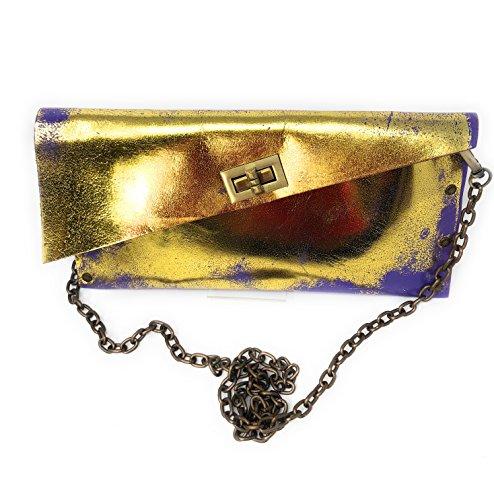 Hombro Gold 28x14x3 Al Mujer Lila Para Bolso Hivebag 4OHvPP