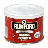 Rumford Baking Powder, Gluten Free, 4-Ounce (Pack of 8)