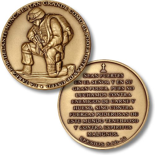 - The Task Ahead - Spanish Version Challenge Coin