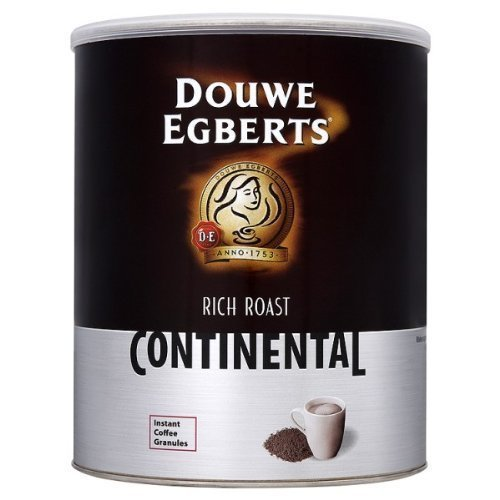 Douwe Egberts Rich Roast Continental Instant Coffee Granules 750G - Pack Of 6