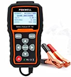 Foxwell BT705 Automotive Battery Analyzer for 12V/24V Regular Flooded, AGM Flat Plate, AGM Spiral, Gel Batteries Starting and Charging System