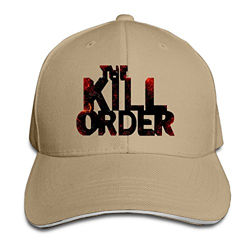 Logon 8 Order To Kill Unisex Sun Hat Natural One Size