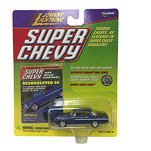 Johnny Lightning Authentic Real Wheels Super Chevy 1963 Nova