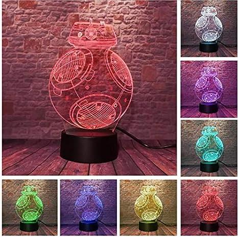 Control remoto Robot Ball 7 color niños cumpleaños luces de ...