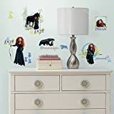 Roommates Rmk1936Scs Disney Brave Peel And Stick Wall Decals