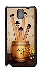 Samsung Note 3 Case Funny Bachelor PC Custom Samsung Note 3 Case Cover Black