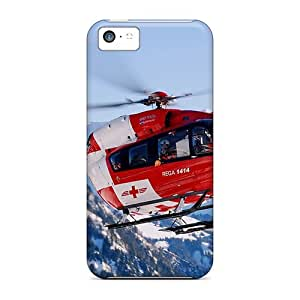 High Quality Rescue Chopper Case For Iphone 5c / Perfect Case