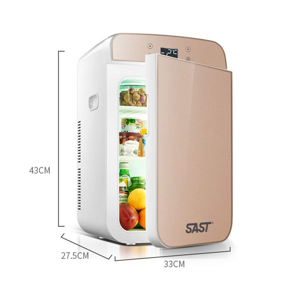 Outdoor Refrigerators Household Portable Refrigerator Insulin Refrigerator Portable Household Medicine Refrigerator Car Travel 25L (Color : Gold, Size : 332743cm) by Outdoor Refrigerators (Image #7)