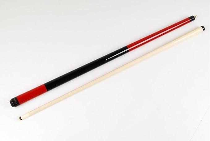 Triton SLEEK RED & Black American Pool Cue - Canadian Maple Shaft & 13mm Tip by Triton: Amazon.es: Deportes y aire libre