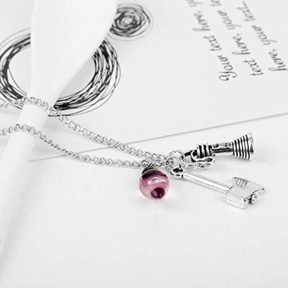 N//H Camera Baseball Necklace Fashion Jewelry Classic Personality Simple Retro Charm Necklace Pendant