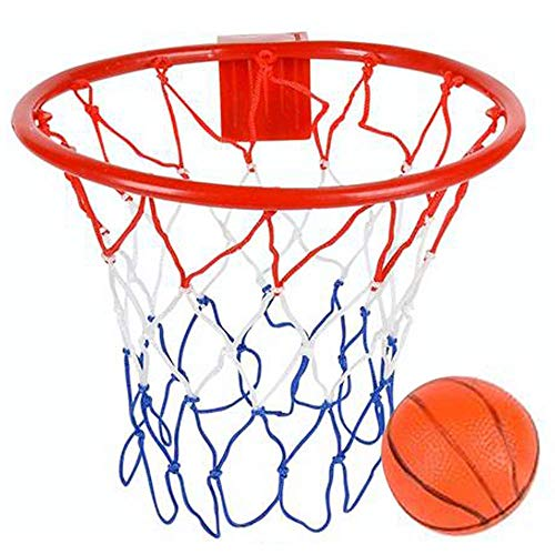 ArtCreativity Over The Door Basketball Hoop Game - Includes 1 Mini Basketball and 1 Net Hoop, Indoor Basketball Set for Home, Office, Bedroom, Best Birthday Gift for Boys and Girls