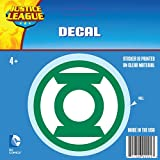 DC Comics ST GL LOGO001 Car Window Decal (Justice League Logos Green Lantern Logo Green and White Standard)