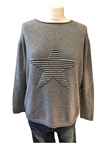 Fashion - Jerséi - Suéter - para mujer gris
