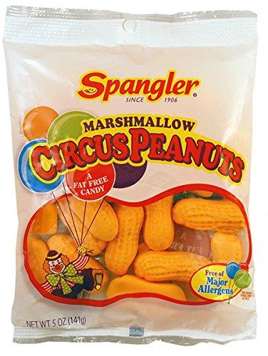 Peanuts Circus Peanut Candy - Marshmallow Circus Peanuts 5 oz