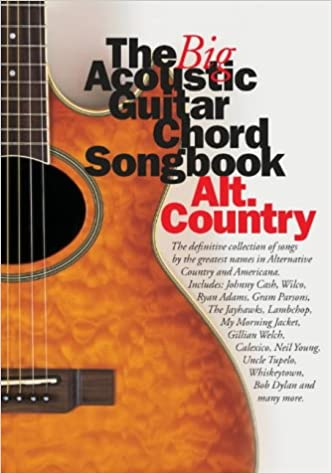 Buy The Big Acoustic Guitar Chord Songbook Altuntry Book Online