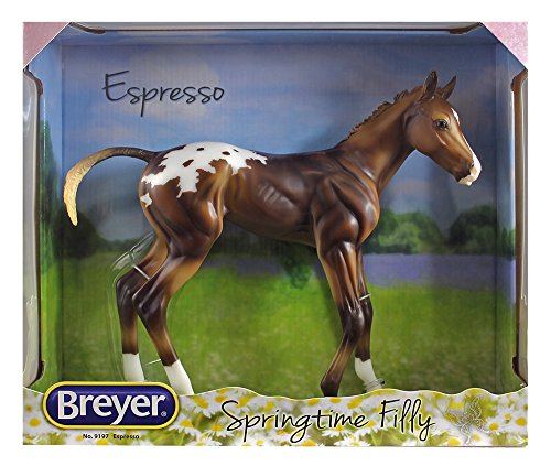 Breyer Traditional Espresso - Springtime Filly Horse Toy Model (1: 6 Scale), Multicolor
