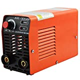 ARC Welder - 300 Amp Mini Arc Welder, 220V High Frequency Welding Machine with Ground Clamp, Protection Glasses for 2.5/3.2mm Welding Electrodes, Safe Soldering Machine with VRD Anti-Electric Shock Function