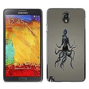 GagaDesign Phone Accessories: Hard Case Cover for Samsung Galaxy Note 3 - Goth Punk Gasmask
