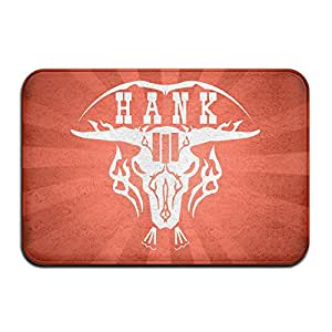 Hank Williams Jr Logo interior al aire libre Floor Mat Doormats