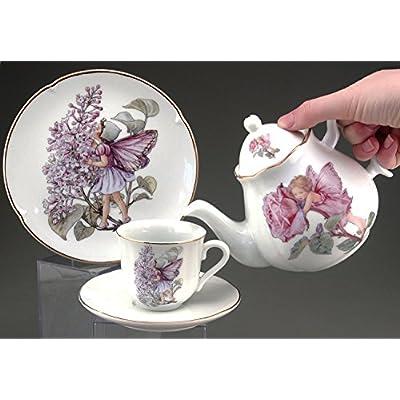 Reutter Porcelain Large Flower Fairy Tea Set: Toys & Games