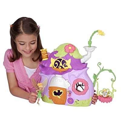 Disney Fairies Ultimate Fairy House - Tink's Pixie Cottage: Toys & Games