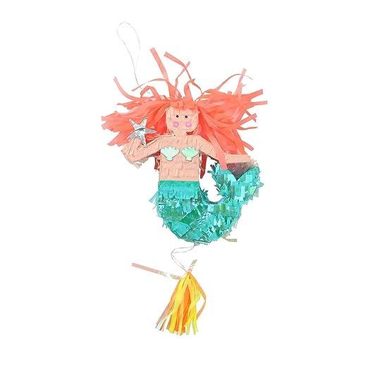 NUOBESTY - Sirena de Cola de piñata con Forma de Sirena de ...