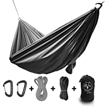 Outdoor Vitals Ultralight Hammock Under 1 lb With Suspension Included, Whoopie Sling Suspension, Tree Straps and Carry Bag