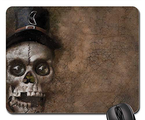 Mouse Pads - Skull Halloween Background Texture Death
