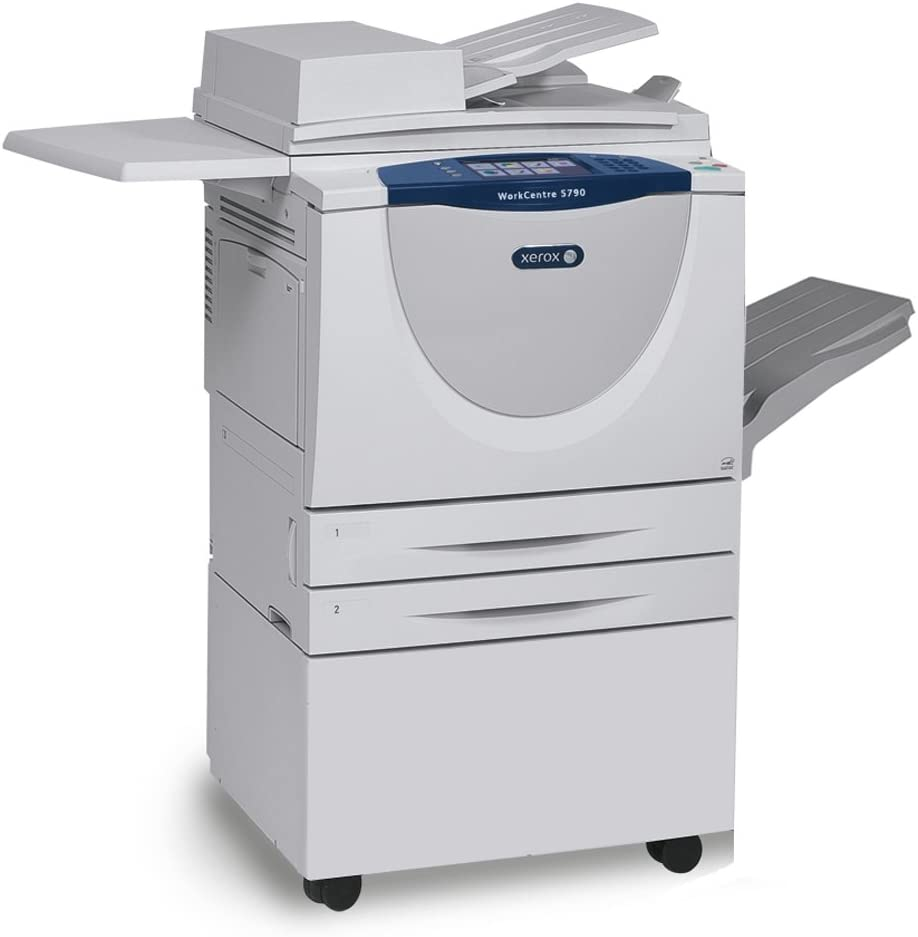 Xerox Workcentre 5775 Tabloid Size Black And White Laser Multifunction Copier 75 Ppm Copy Print Scan Email Internet Fax Auto Duplex 2 Trays Stand Electronics