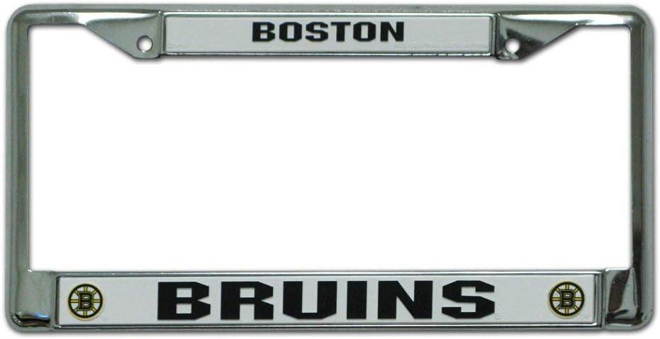 baby Eletina Aluminum Vintage Sign License plateChrome Plate Frame
