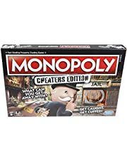 Monopoly Game: Cheaters Edition Board Game, 3-6 Players