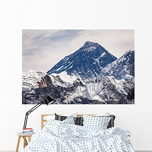 Wallmonkeys Everest Himalaya Wall Mural Peel and Stick Graphic (72 in W x 48 in H) WM367199