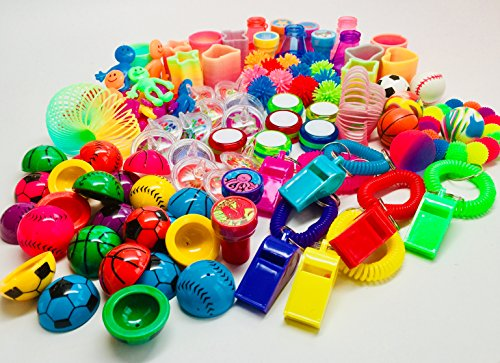 Crane/Claw Game, Piñata Party Refill & Teachers Treasure Chest Bundle (101 pieces)