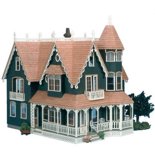 Greenleaf Garfield Dollhouse Kit - 1 Inch Scale by Greenleaf Billiards