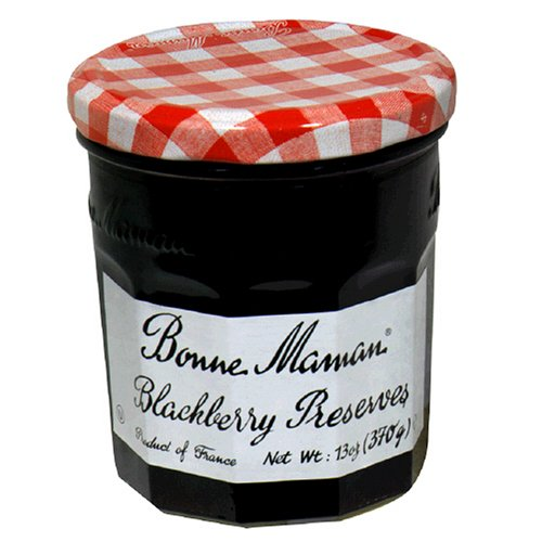 Bonne Maman Blackberry Preserves, 13-Ounce Jars (Pack of 6)