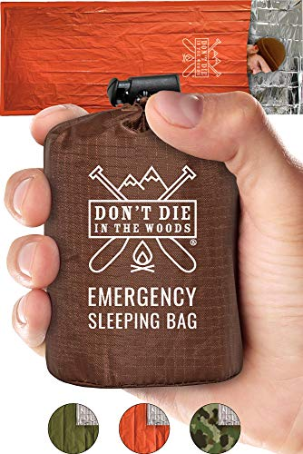 Emergency Sleeping Bag With Hood...