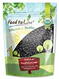 Organic Dried Blueberries — Certified, Non-GMO, Kosher, Unsulfured, Bulk, Lightly Sweetened, (by Food to Live) 1 pound For Sale