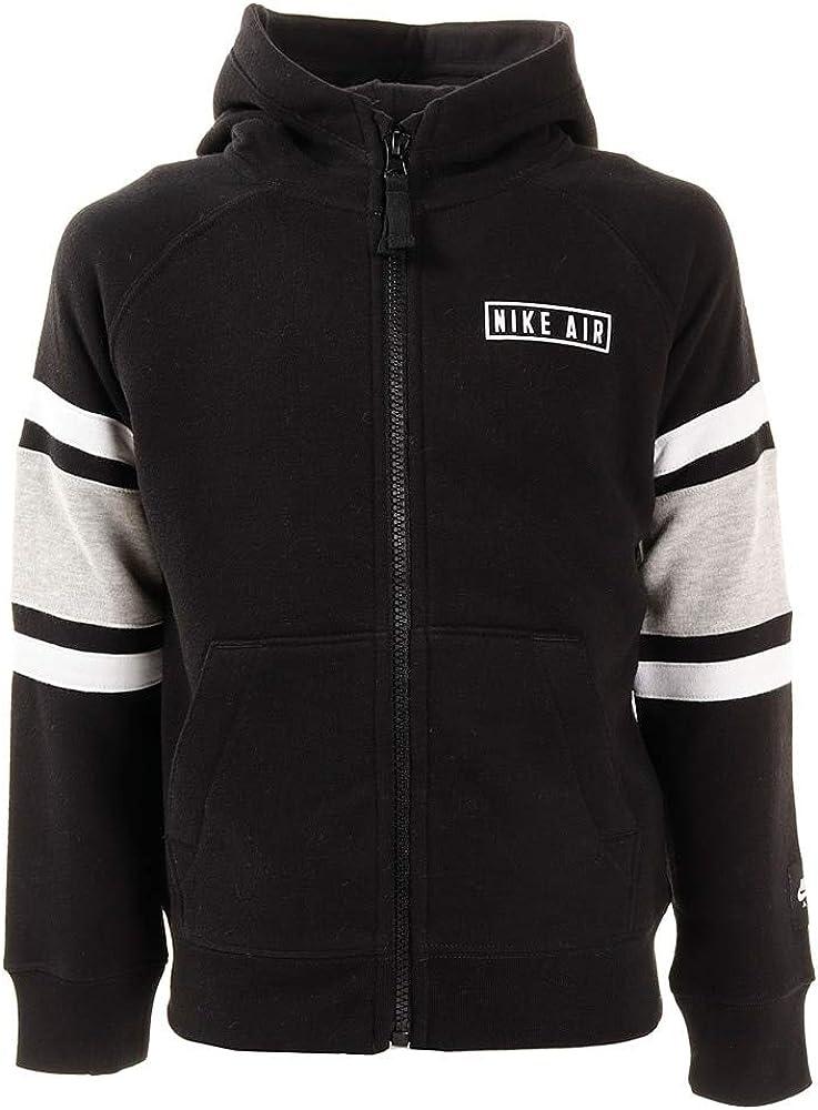 Nike Full Zip Black Sweatshirt for Children 86F290-023