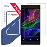 Razer Phone Screen Protector (Case Friendly), Wimaha 2 Pack Tempered Glass Screen Protector for Razer Bubble Free Ultra Clear Easy Installation